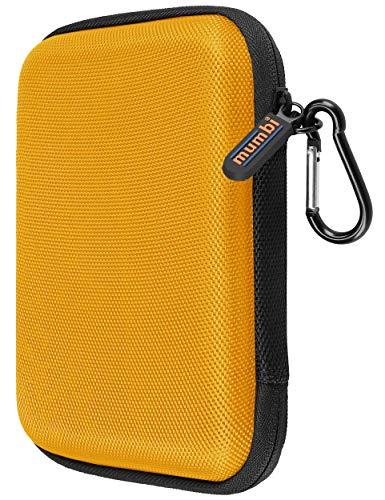 mumbi Funda para Disco Duro Externo de hasta 6,35 cm (2,5'), Color Amarillo y Amarillo Mostaza
