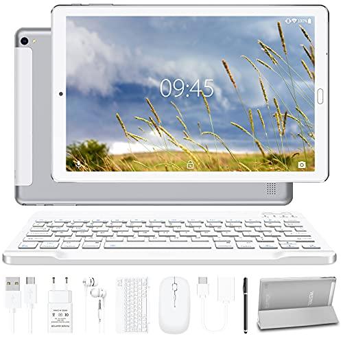 Tablet 10.0 Pulgadas YESTEL Android 10.0 Tablets con 4GB RAM + 64GB ROM - /WiFi | Bluetooth | GPS,...