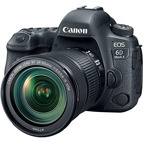 Canon EOS 6D MK II - Cámara digital réflex de 26.2 MP (pantalla táctil de 3.0'', Wifi, Bluetooth,...