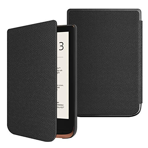 FINTIE Funda Compatible con Pocketbook Touch HD 3/Touch Lux 4/Basic Lux 2/Color (2020) e-Book Reader...