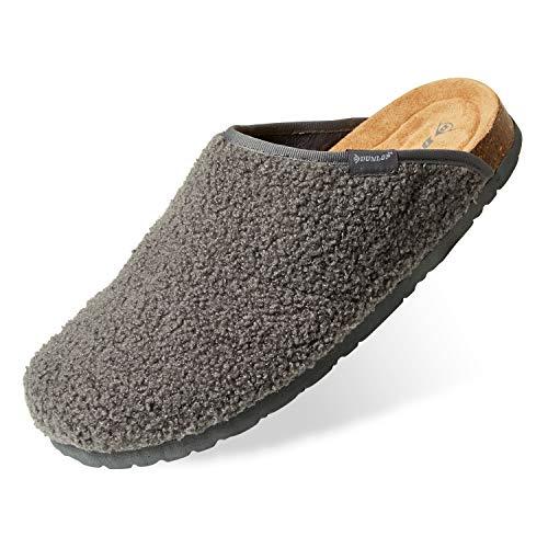 Dunlop Zapatillas Casa Hombre, Pantuflas Hombre De Forro Suave, Zapatillas Hombre con Suela...