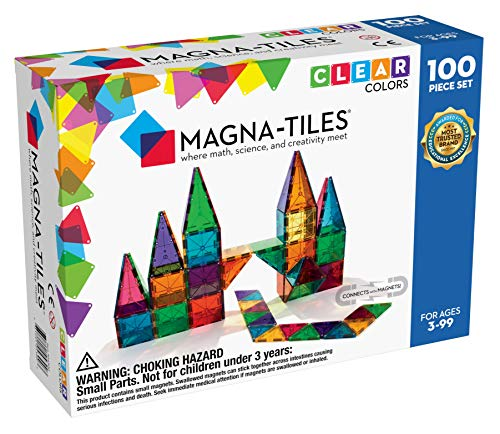 Magna-Tiles® Translúcido 100 Piezas de Valtech