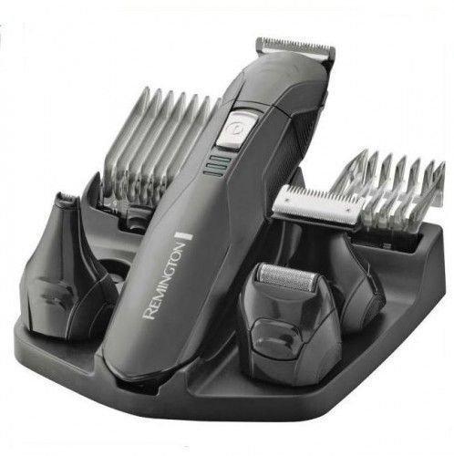 Remington Edge Recortadora de Barba y Cortapelos - Inalámbrico, Cuchillas de Acero Inoxidable, 4...