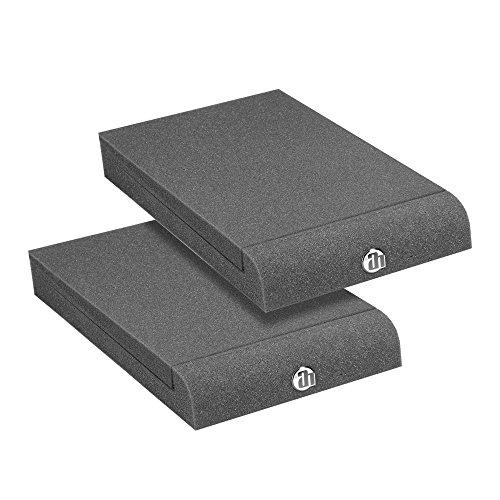 Adam Hall SPADECO1 - Placas de absorción para monitores de estudio, color gris