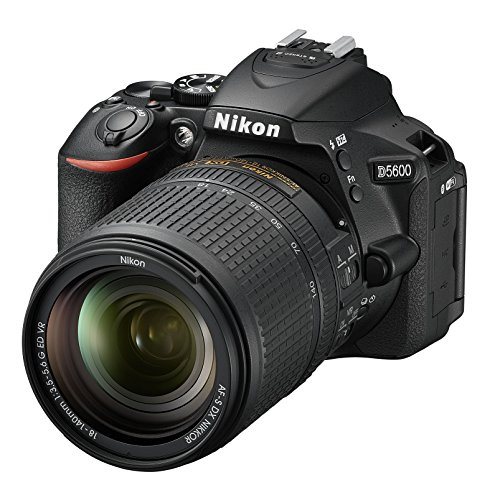 Nikon D5600 - Cámara réflex de 24.2 MP (pantalla táctil de 3', Full HD) negro - kit con objetivo...