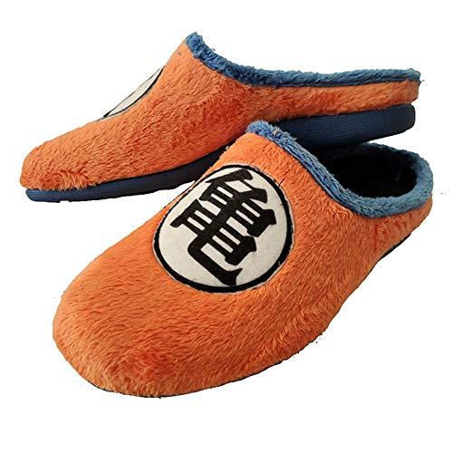 Zapatillas Kanji Kame inspiradas en Dragon Ball cómodas casa Goku (Numeric_39)