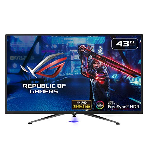 ASUS ROG Strix XG438Q - Monitor Gaming de 43'' 4K (3840x2160, 16:9, 120 Hz, 4 ms, Freesync Premium...