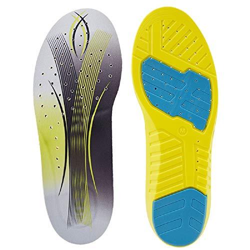 SOFIT Plantillas Gel Memory Foam Sport Plantillas, Amortiguadoras y Tanspirabilidad Antibacteriana y...