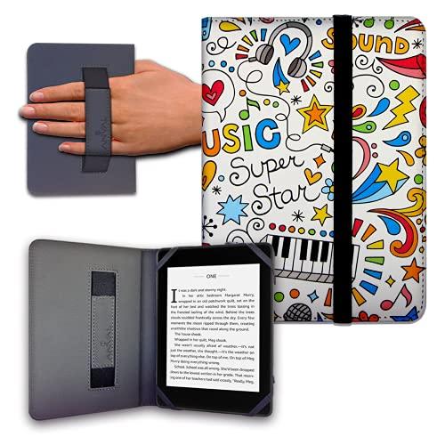 Funda para Libro electrónico eReader eBook de 6 Pulgadas - Woxter, Tagus, BQ, Energy, SPC, Sony,...