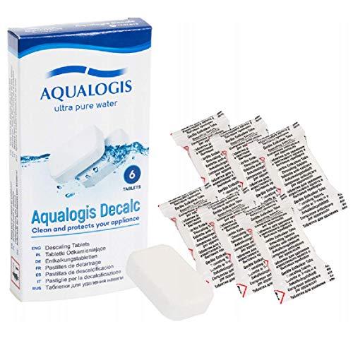aqualogis descalcificador pastillas antical para cafeteras cápsula, sobre máquinas de café,...