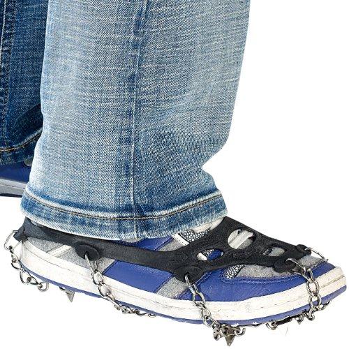 Semptec Urban Survival Technology Cadenas de Nieve para Calzado: 1 par de Cadenas de Zapatos para...