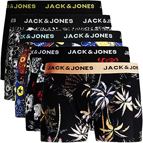Jack & Jones Trunks - Calzoncillos tipo bóxer (5 unidades) 5 unidades multicolor 27 S